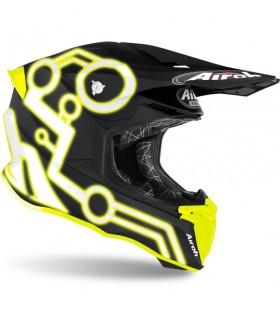 Casti Casca Airoh Twist 2.0 Neon Yellow Matt Airoh Xtrems.ro