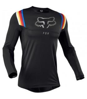 Tricouri Tricou Fox FLEXAIR VLAR [BLK] Fox Xtrems.ro