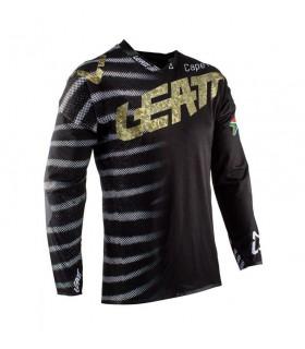 Tricouri Tricou LEATT GPX 5.5 ULTRAWELD ZEBRA Leatt Xtrems.ro