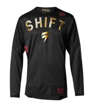 Tricou Shift 3LACK MUERTE Limited edition [BLACK/RED]