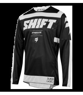 Tricouri Tricou Shift 3LACK STRIKE [BLK/WHT] Shift Xtrems.ro