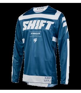 Tricouri Tricou Shift 3LACK STRIKE [BLU] Shift Xtrems.ro