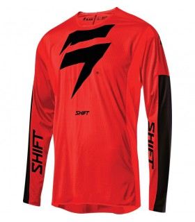 Tricouri Tricou Shift 3LACK LABEL RACE [RED/BLK] Shift Xtrems.ro