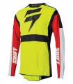 Tricouri Tricou Shift 3LACK LABEL RACE JERSEY [FLO YLW] Shift Xtrems.ro
