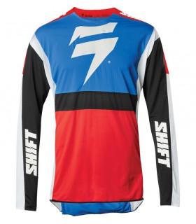Tricouri Tricou Shift 3LACK LABEL RACE JERSEY [BLU/RED] Shift Xtrems.ro