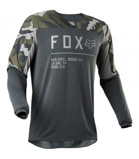 Tricouri Tricou FOX 180 LOVL [BLK/YLW] Fox Xtrems.ro