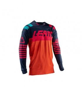 Tricouri Tricou LEATT GPX 4.5 X-FLOW ORANGE/BLACK Leatt Xtrems.ro