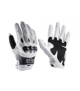 Manusi Fox Bomber Glove [White/Black]