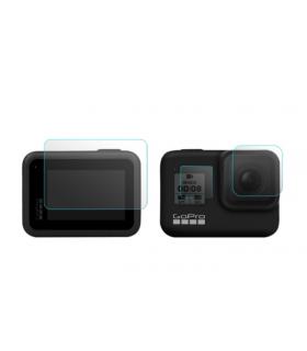 Folie De Sticla Pentru Obiectiv Si Ecran LCD Compatibila GoPro Hero 8 Black