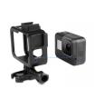 Carcase/Protectii Carcasa Frame / Skeleton Din Aluminiu Compatibila GoPro Hero 8 Black + Cold Shoe Mount Xtrems Xtrems.ro