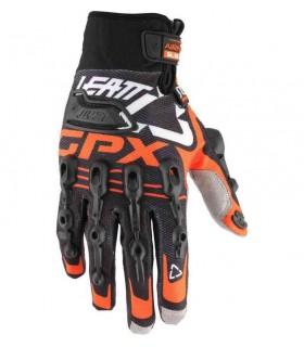 Manusi Manusi Leatt Glove GPX 5.5 Windblock Blk/Org Leatt Xtrems.ro