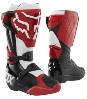 Cizme Moto Fox Comp R Boot - Idol [RD/BLK/WHT]
