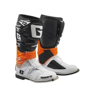 Cizme Moto Gaerne SG 12 ORANGE/BLACK/WHITE