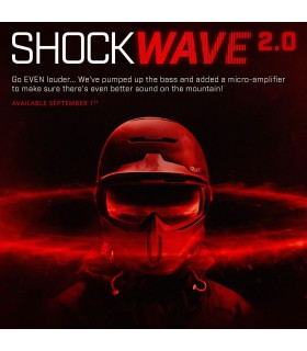 Audio Sistem Audio SHOCKWAVE 2.0 BLUETOOTH 2017-2018 Ruroc Xtrems.ro