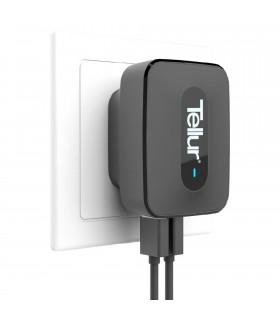 Incarcator Tellur 2 x Port USB, 1 x Port USB QuickCharge 3.0
