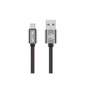 Cabluri Lightning Cablu Denim Tellur MFi Lightning, 1m Tellur Xtrems.ro