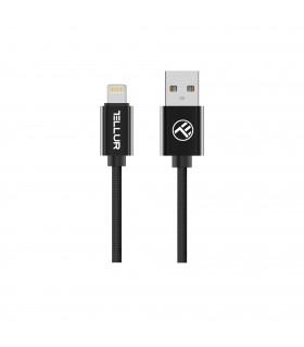 Cabluri Lightning Cablu Braid Tellur MFi Lightning, 2m Tellur Xtrems.ro