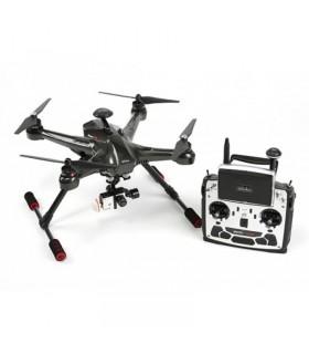 Walkera Scout X4 - Dronă cu Radiocomandă Devo F12E, Gimbal 3D şi modul FPV - GoPro Version + PadHolder CADOU