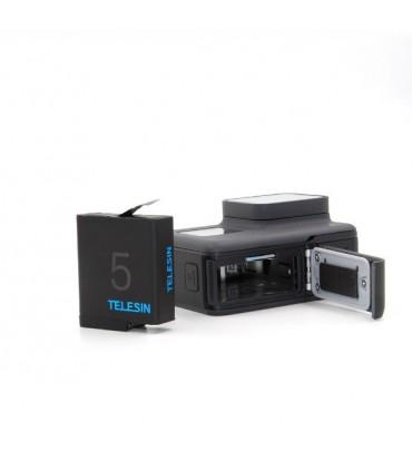 Baterie Compatibila Gopro Hero 5,6,7,8 Black, 3.85V, 1220 mAh, Inregistare indelungata