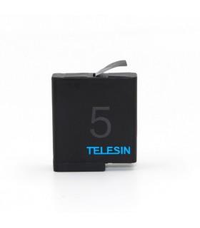 Baterii/Incarcatoare Baterie Telesin Compatibila Gopro Hero 5,6,7,8 Black, 3.85V, 1220 mAh, Inregistare indelungata Telesin X...