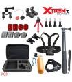 Seturi accesorii Set 26 Accesorii compatibile Gopro,Trepied Octopus,Selfie Stick, Geanta, Ham piept X03 Xtrems Xtrems.ro