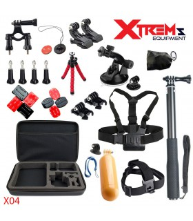 29 Accesorii Gopro ,Sjcam,Xiaomi, Geanta XL, Ventuza Parbriz, Bobber X04