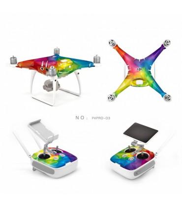 Skin drona si radiocomanda - Phantom 4 Pro