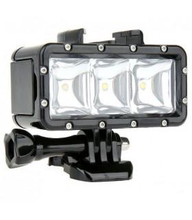 Lanterna led subacvatica camera sport - Gopro, Sjcam, Xiaomi, Sony