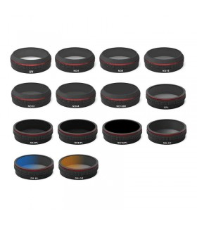 Kit filtre Phantom 4 pro- ND4, ND8, ND16, ND32, ND64, ND1000, CP