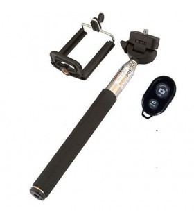 Selfie stick + telecomanda bluetooth , Telescopic