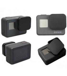 Capac protectie obiectiv Compatibil Gopro 5 6 si 7 Black