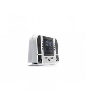 Mai mult despre Ceas de birou cu camera spion HD 720P cu Night Vision + Card 16GB Gratuit