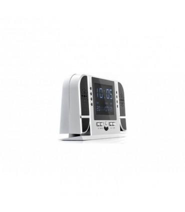 Ceas de birou cu camera spion HD 720P cu Night Vision + Card 16GB Gratuit