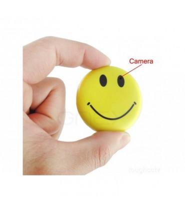 Ecuson smiley face cu camera ascunsa, MP3 Player