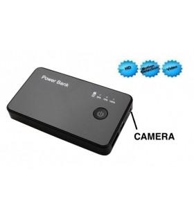 Baterie externa 3000mAh cu camera ascunsa HD 720P