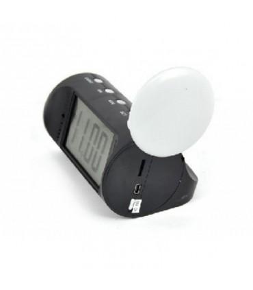 Ceas de birou CMCVR102 cu camera ascunsa 32 Gb, Telecomandă, Senzor Mişcare