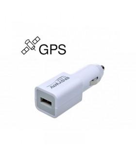 Incarcator auto cu localizare GPS si microfon spion
