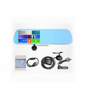 GPS cu android, camera auto cu dubla lentila, Car Kit, Senzor Parcare, WiFi, Modulator FM