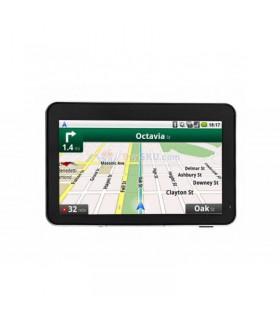 Navigatie auto MTK Display LCD 5 inch, Touchscreen, compatibil cu hărţile din UK, EU (inclusiv ROMÂNIA), AU, NZ