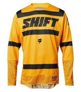 Tricouri TRICOU SHIFT 3LACK STRIKE JERSEY GALBEN Shift Xtrems.ro