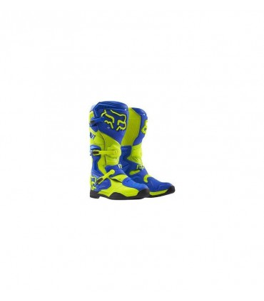 Cizme moto MX-BOOT COMP 8 BOOT-RS BLUE/YELLOW