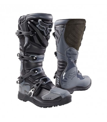 Cizme moto MX-BOOT COMP 5 OFFROAD BOOT BLACK/GREY