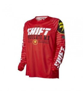 TRICOU SHIFT MX-JERSEY STRIKE JERSEY ROSU