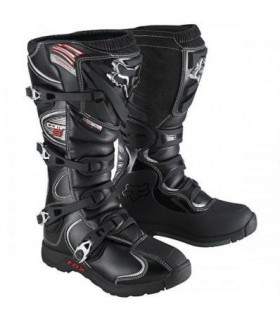 Cizme moto MX-BOOT COMP 5 BOOT BLACK