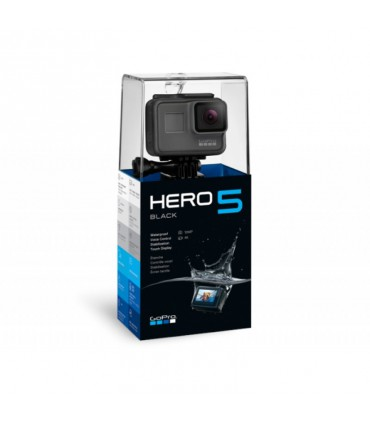 Cameră Sport GoPro Hero 5 Black Edition, 4K, Stabilizare Video, Comenzi vocale, LCD Touch