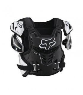Protectii PROTECTIE FOX MX-GUARDS RAPTOR VEST CE NEGRU/ALB Fox Xtrems.ro
