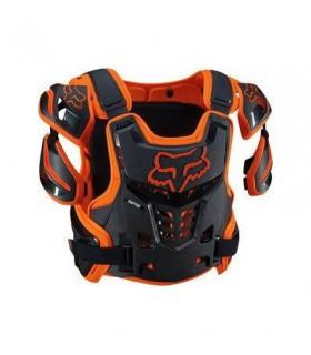 Protectii PROTECTIE FOX MX-GUARDS RAPTOR VEST CE PORTOCALIU Fox Xtrems.ro