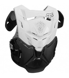 Protectii Protectie Fox AIRFRAME PRO JACKET, CE [BLK/WHT] Fox Xtrems.ro