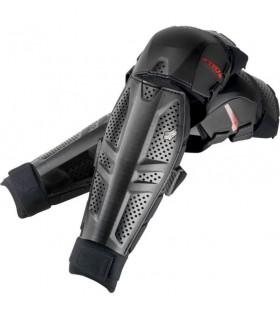 Protectii PROTECTIE FOX MX-GUARDS LAUNCH KNEE/SHIN GUARD BLACK Fox Xtrems.ro