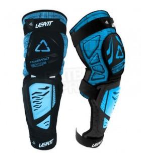 Protectie LEATT KNEE &SHIN GUARD 3DF HYBRID EXT NEGRU/ALBASTRU